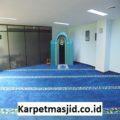 Pemasangan Karpet Masjid Custom Pt Pusri Palembang