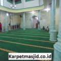 Pemasangan Karpet Masjid Custom Jami Al Hidayah Ujung Harapan