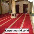 Pemasangan Karpet Masjid Custom Baitul Hakim Cikarang