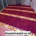 Pemasangan Karpet Masjid Custom Baiturrahman Grand Indonesia