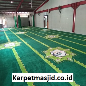 Pemasangan Karpet Masjid Custom SMA Taruna Bangsa Bekasi