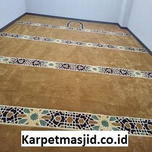 Pemasangan Karpet Masjid Custom Al Munawwarah Bekasi