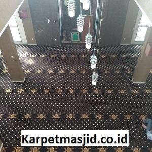 Pemasangan Karpet Masjid Custom Baiturrahman Cianjur