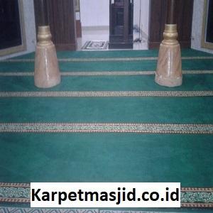 Pemasangan Karpet Masjid Custom Al Jannah Bekasi Utara