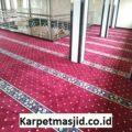 Pemasangan Karpet Masjid Custom Al Ikhlas Boyolali