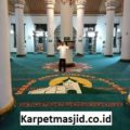 Pemasangan Karpet Masjid Custom Agung Sumenep Madura