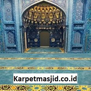 Pemasangan Karpet Masjid Custom Al Karim Jakarta Barat