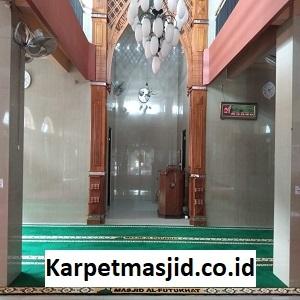 Pemasangan Karpet Masjid Custom Al Futukhat Tambun Selatan