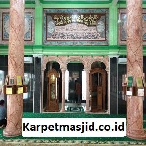 Pemasangan Karpet Masjid Custom Baitul Mukmin Cikarang