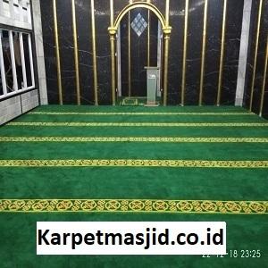 Pemasangan Karpet Masjid Custom Arsilla Hotel Bandung