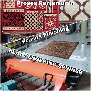 proses cuci karpet